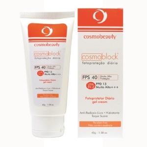 Cosmoblock FPS 40 com Ácido Salicílico (CosmoBeauty)