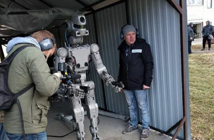 A Rússia tem um robô tipo Inteligência Artificial!
