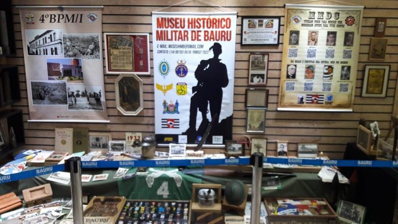 Shopping de Bauru recebe exposição sobre Revolução de 1932