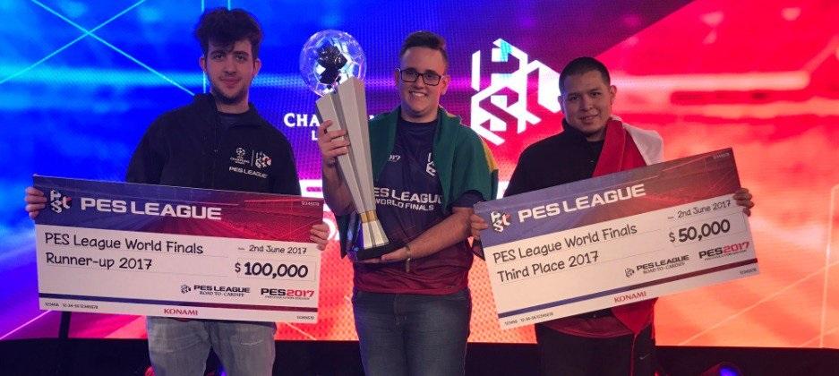 """Aos 17 anos, GuiFera se torna primeiro brasileiro campeão mundial de """"Pro Evolution Soccer"""""""