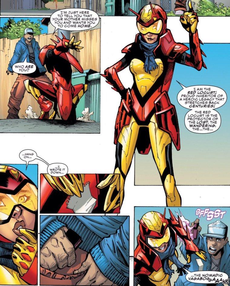 Red Locust: Conheça a heroína Marvel inspirada no Chapolin Colorado