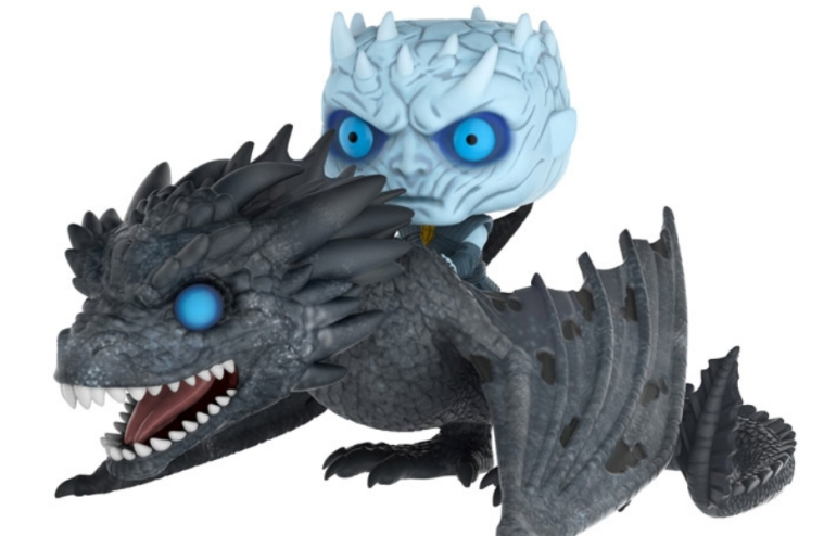 """Game Of Thrones"" ganha Funko Pop do Rei da Noite com o Viserion"