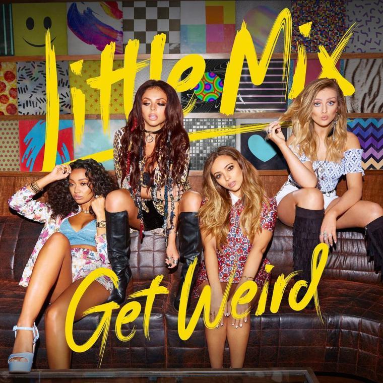 """""""Get Weird"""": terceiro álbum do Little Mix chega a 1 milhão de vendas puras mundialmente"""