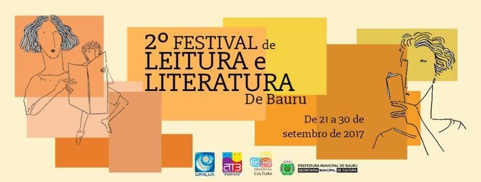 Começa hoje o 2° Festival de Leitura e Literatura em Bauru
