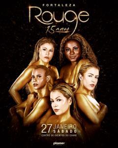 Rouge marca primeiro show da sua nova turnê