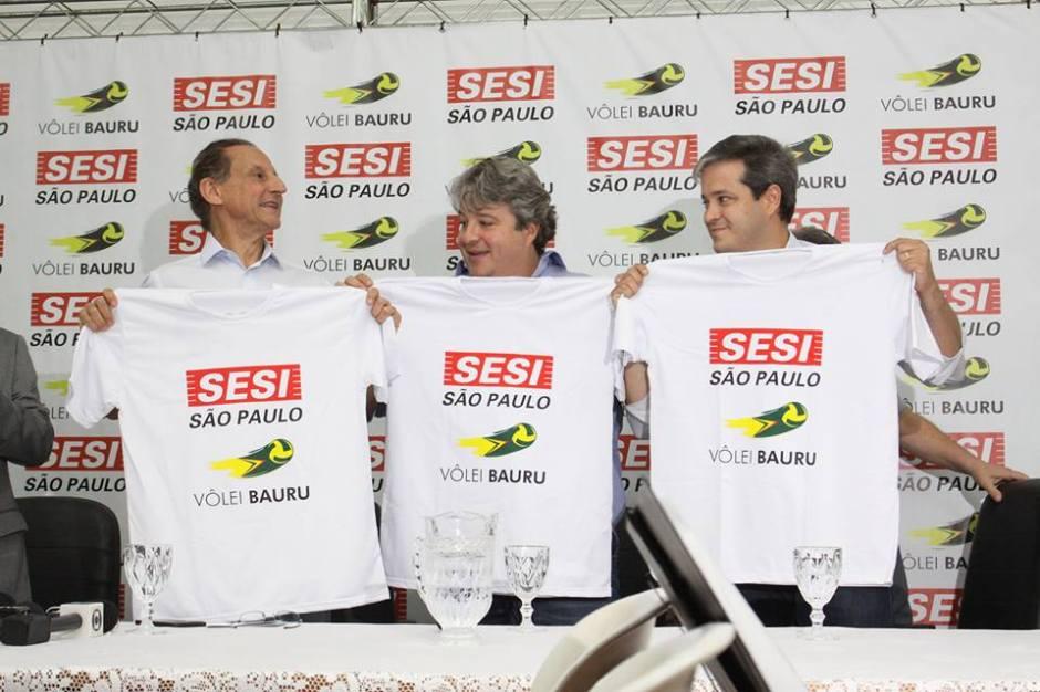 Em parceria com Vôlei Bauru, Sesi terá ginásio de esportes para 5 mil pessoas