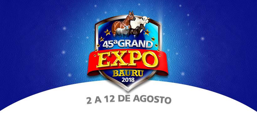 Confira a programação da Grand Expo Bauru 2018