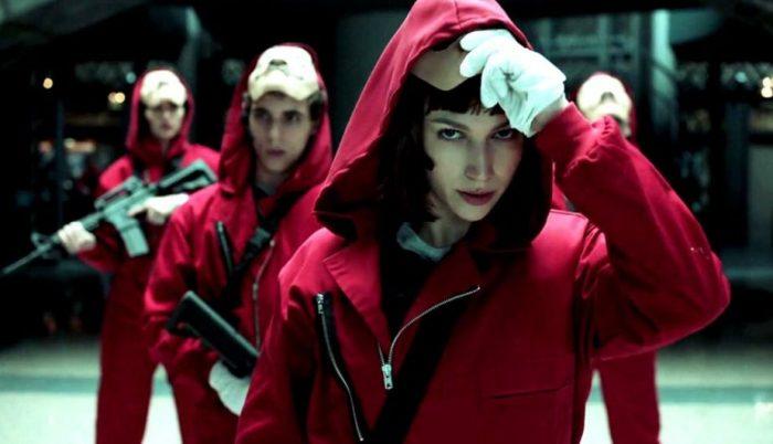 """""""La Casa De Papel"""" é a série de língua não-inglesa mais assistida na Netflix"""