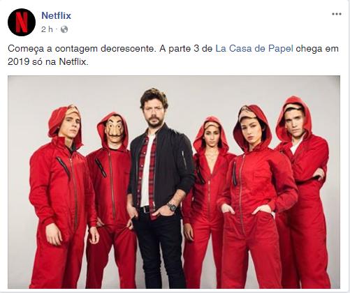 """La Casa de Papel"" terá terceira temporada"