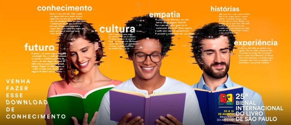 Começou a venda de ingressos para a Bienal Internacional do livro de São Paulo