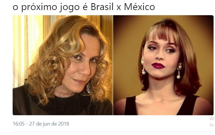 O jogo nem começou e já temos chuva de memes para o confronto entre Brasil x México