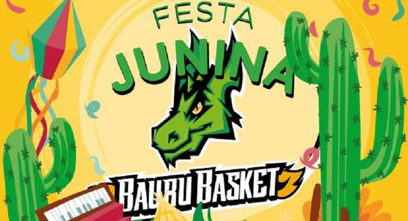 Bauru Basket realiza festa junina