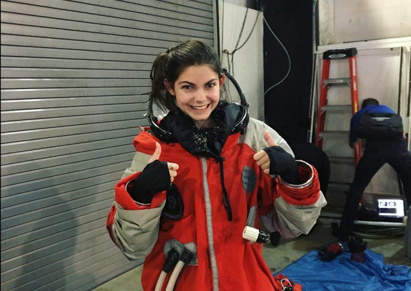 Aos 17 anos, estudante se prepara para ser a primeira pessoa a pisar em marte