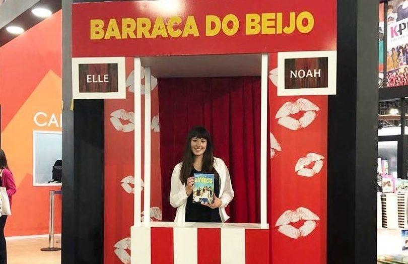 """Bienal do livro: confira o bate-papo com a autora Beth Reekles, de """"A Barraca do Beijo"""""""