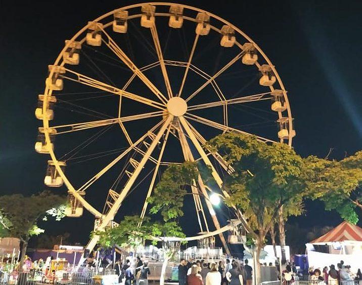 Roda gigante italiana é inaugurada em Bauru