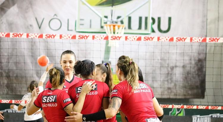 Copa São Paulo 2018: Tem jogo do Sesi Vôlei Bauru nesta sexta-feira