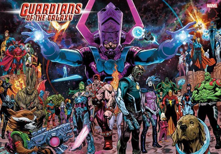 Marvel vai relançar HQ dos Guardiões da Galáxia em 2019