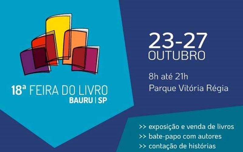 18ª Feira do Livro acontece no Parque Vitória Régia em Bauru