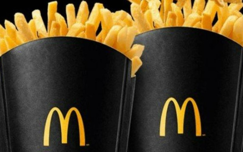 Mc Donald's dará batata frita em dobro na Black Friday