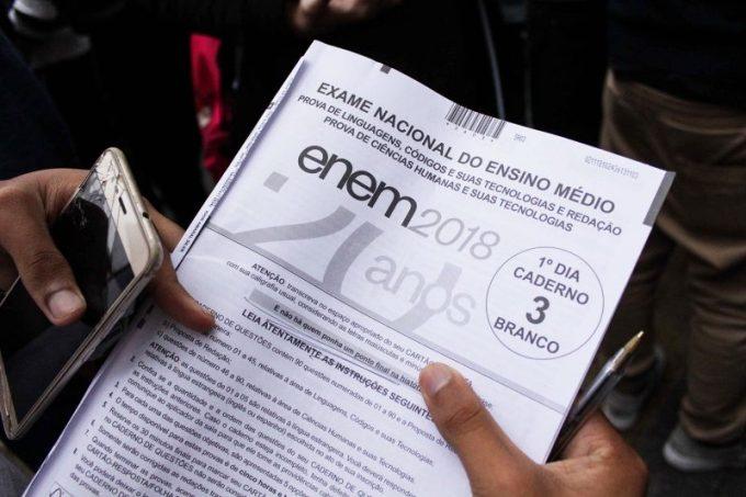 Gabarito do ENEM 2018 é divulgado!