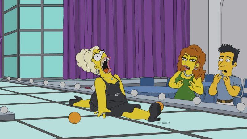 Homer aparece como drag queen em novo episódio dos Simpsons