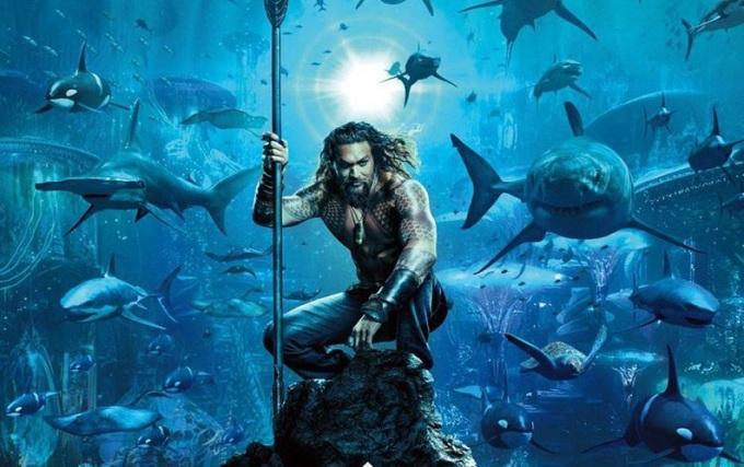 Aquaman é a supernovidade da semana nos cinemas de Bauru