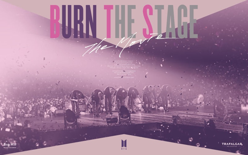 """BTS - Burn The Stage: The Movie"" está em cartaz nos cinemas"