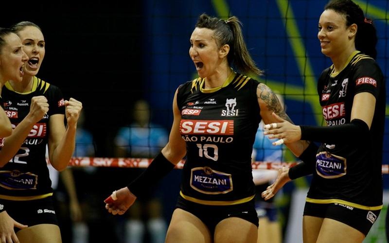 Sesi Vôlei Bauru vence e está na Semifinal da Superliga CIMED pela primeira vez na história